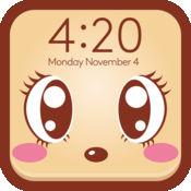 锁屏壁纸设计师专业版 - 可爱卡通特辑 for iOS 7