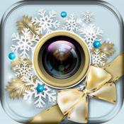 圣诞相框 照片编辑器 圣诞贴纸相机