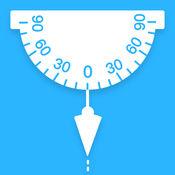 专业量角器&铅锤摆-测垂直与水平,万能角度测量 1.1
