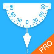 专业量角器&铅锤摆Pro-测垂直与水平,万能角度测量