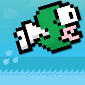 跳动的鱼 - 最佳飞行软盘鸟鱼的新的冒险
