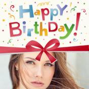 生日帧来编辑照片和视频贴纸 1