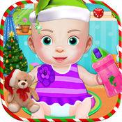 圣诞节新生婴儿 - 婴儿日托游戏