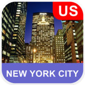 美国纽约市, 离线地图 - PLACE STARS v1.1