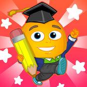 Fun English: 学英语-儿童美语和英语学习游戏、教英文单字、拼字、读、说、听、写和发音。