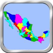 墨西哥地图拼图 1.1