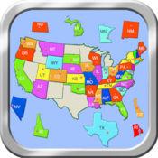 美国地图拼图 2.6