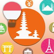 游学印尼语-印度尼西亚语单字卡游戏(基礎版)