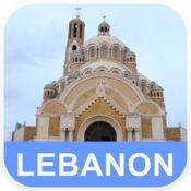黎巴嫩 离线地图 - PLACE STARS