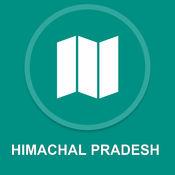 喜马偕尔邦,印度 : 离线GPS导航