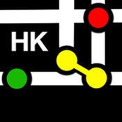 香港地铁线路图 - MTR Metro Map