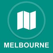 墨尔本,澳大利亚 : 离线GPS导航