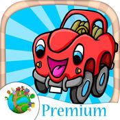 车和卡丁车 - 赛车乐趣迷你游戏为孩子们 - 高级
