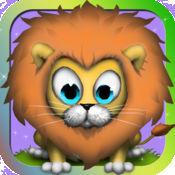 丛林婴儿免费比赛游戏 - 孩子和成人有趣的战略匹配行动