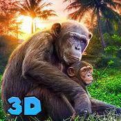 黑猩猩猴模拟器3D 1