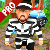Jungle Crazy Runner Pro:犯人生存3D
