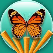 穿越丛林的蝴蝶-一个可爱的类似天天飞行的小鸟的酷跑类游戏