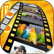 幻灯片制作视频编辑器 - 音乐和照片蒙太奇
