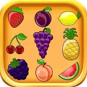 水果词汇为孩子