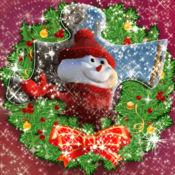 乐趣 圣诞 拼图 难题 新 年 假日 设置 图片 1.1