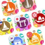 解锁9种亚太区语言500张学习咭和片语