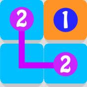 数学谜题:数字连线游戏