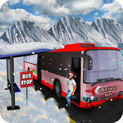 圣诞派对雪长途汽车模拟器2016年专业版 1