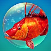 捕鱼游戏:鱼叉捕鱼 - 钓鱼 3D 潜水 - 最经典的钓鱼游戏 (让我钓鱼吧)
