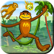 拯救朋友:丛林蜘蛛猴子冒险记
