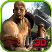 丛林战士 - 3D野蛮人战士复仇模拟游戏