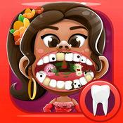 牙医游戏 嘴医生 游戏的孩子