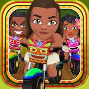 公主自行车比赛皇家赛车游戏