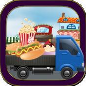 水果蔬菜怪物卡车--超市极限派送游戏