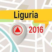 Liguria 离线地图导航和指南 1