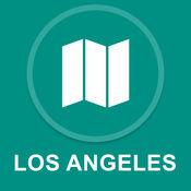 美国洛杉矶 : 离线GPS导航 1