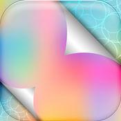 颜色渐变壁纸 – 五颜六色的背景图片和棱形主题