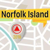 诺福克岛 离线地图导航和指南 1