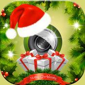 圣诞节照片影楼 – 贴纸&帧编辑器