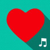 爱手机铃声免费 – 浪漫的旋律和最好情人节音板为iPhone 1