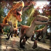 侏罗纪 迪诺 . 免费 恐龙 模拟器 动物 游戏 对于 孩子 2.1