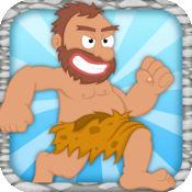 在微小的穴居人的侏罗纪丛林拉什 - 免费游戏