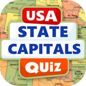 美国各州 首都 测验 – 惊人的游戏 对于 地理球迷