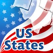 美国各州,首都,国旗,地点和密封测验