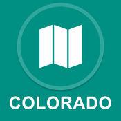 美国科罗拉多州 : 离线GPS导航