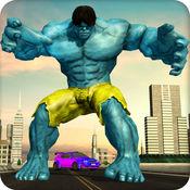 怪物 超级英雄 市 战斗