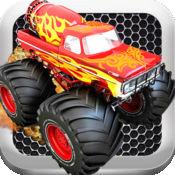 怪物卡车愤怒的复仇 - 一种快速的卡车赛车游戏!