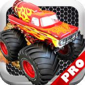 怪物卡车愤怒的复仇PRO - 快速卡车赛车游戏!