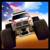 怪物卡车游戏4x4的3D - 怪兽赛车2017