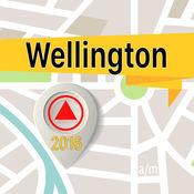 惠灵顿 离线地图导航和指南 1