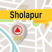Sholapur 离线地图导航和指南